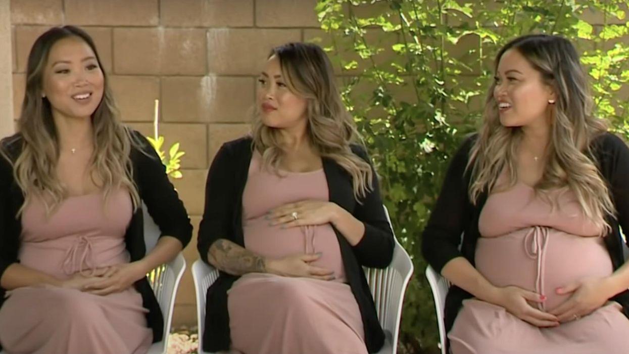 Những cặp sinh ba này có một mối liên kết đáng chú ý ― họ đều mang thai cùng một lúc!