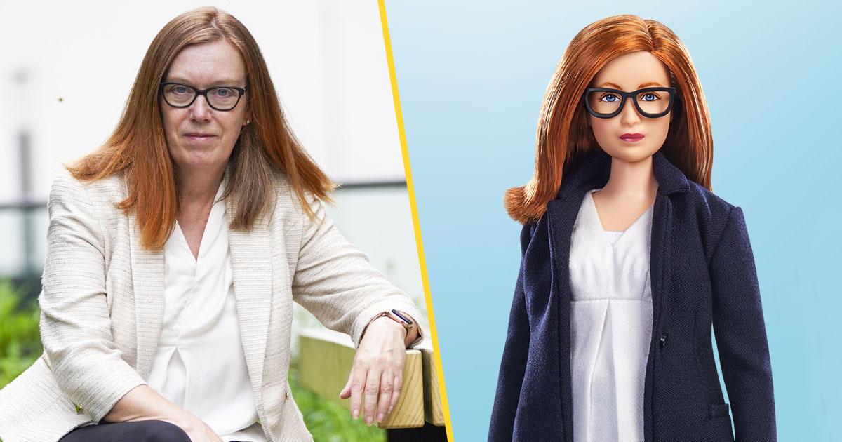 Búp bê Barbie được mô phỏng theo người phụ nữ đã phát triển vắc xin COVID-19