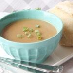 Roasted potato leek soup 5