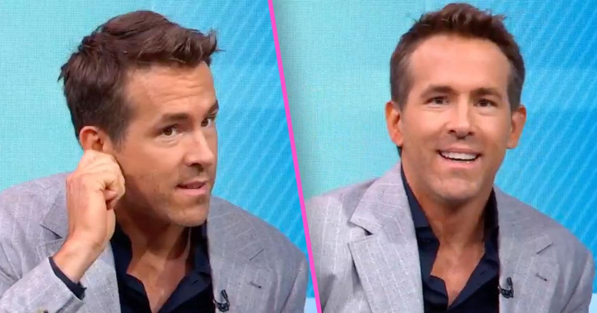 Ryan Reynolds đã gửi những tín hiệu bí mật cho các con của anh ấy khi anh ấy tham gia GMA