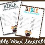 bible word scramble 2