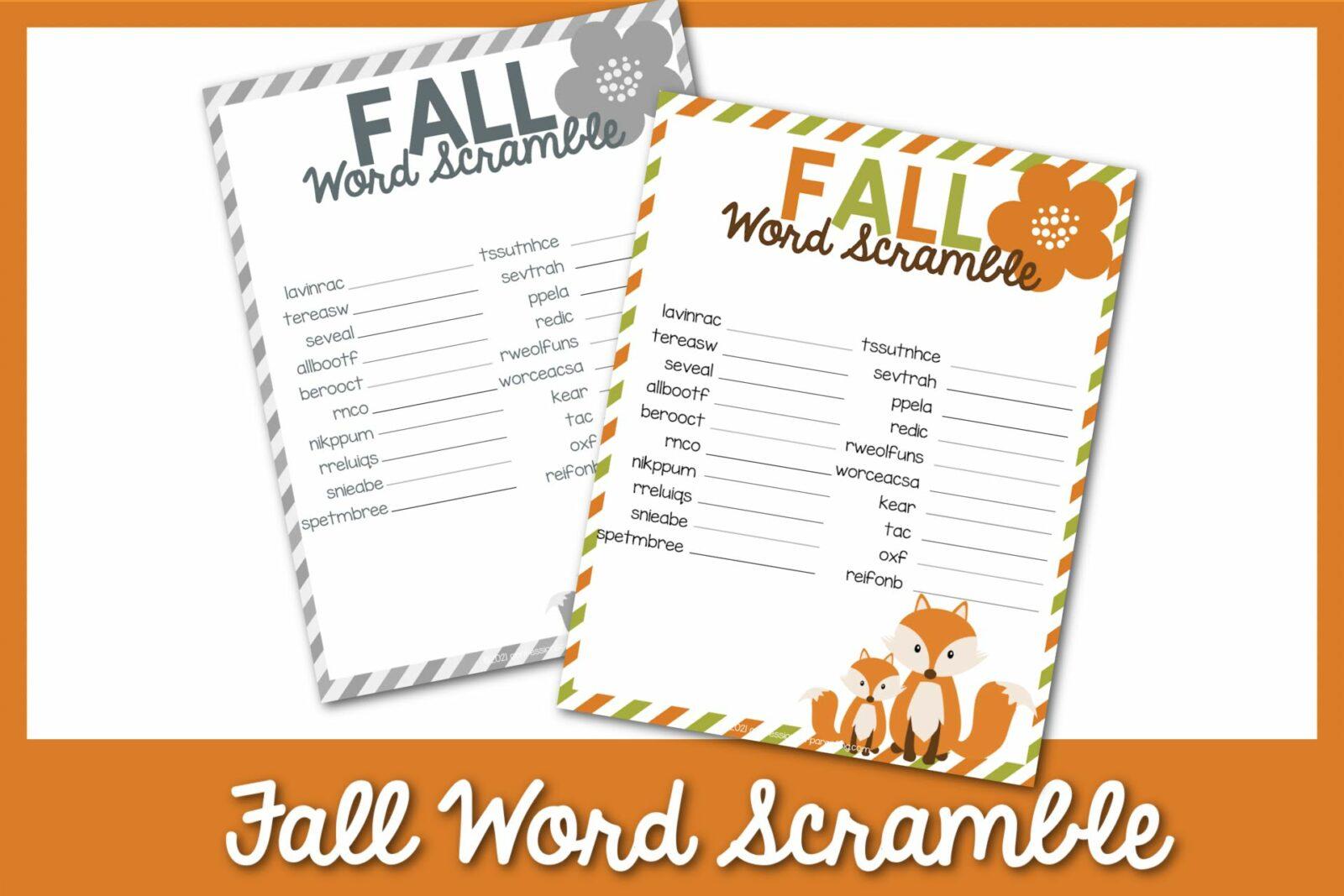 Fall Scramble từ