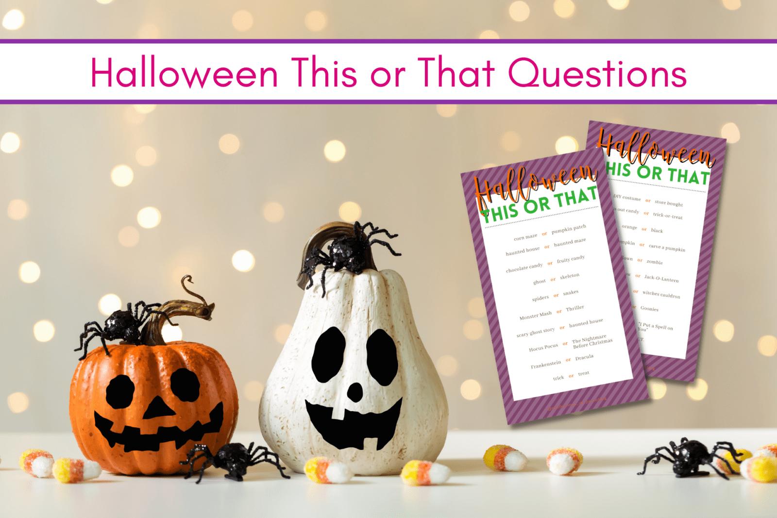 50 câu hỏi Halloween ma quái này hay đó