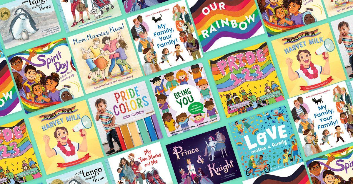 Sách tranh về LGBTQ dành cho trẻ sơ sinh và trẻ mới biết đi