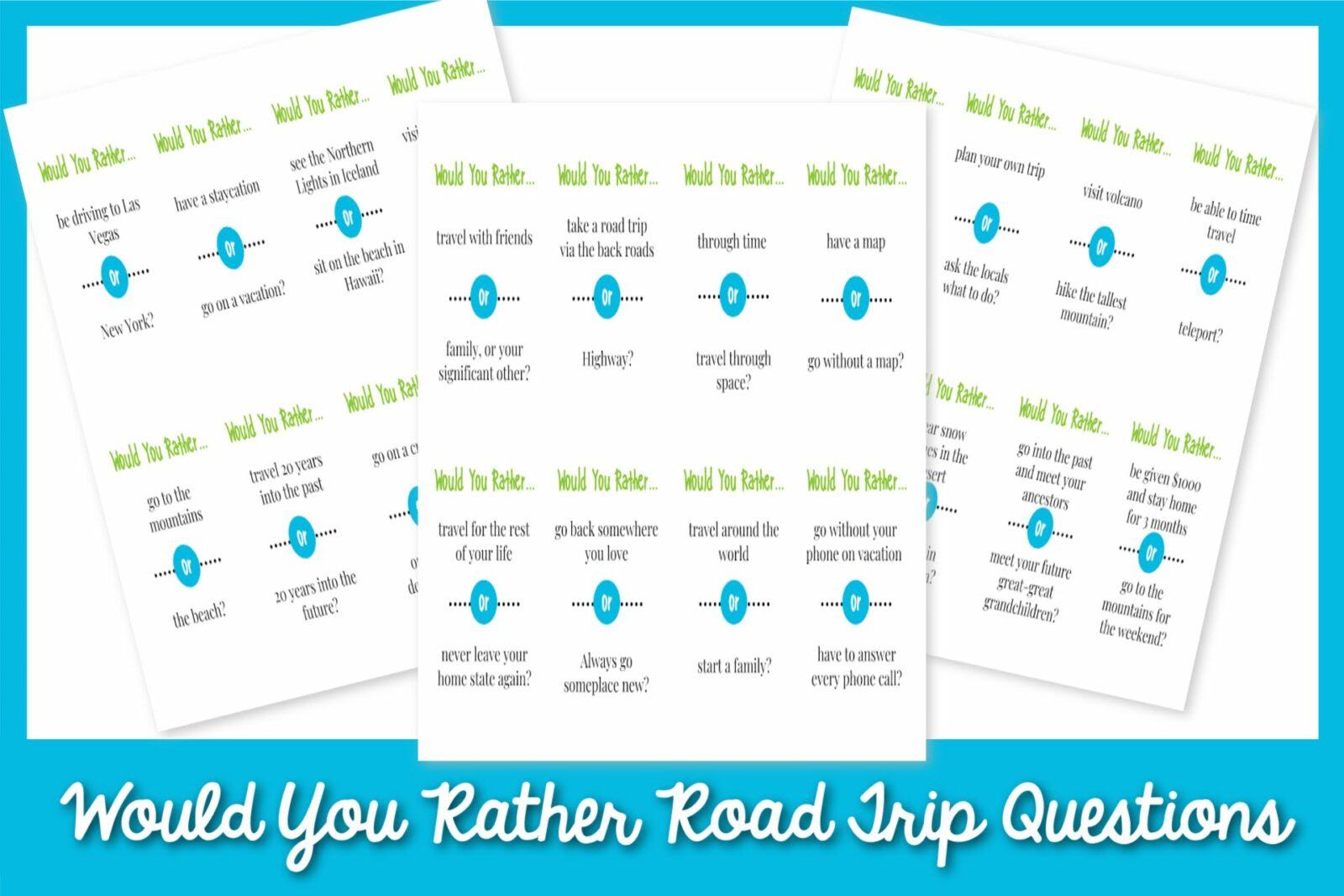 Bạn có hơn 90 câu hỏi về chuyến đi đường không
