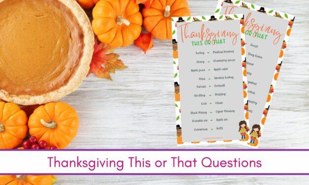 50 câu hỏi này hay câu kia để tạ ơn