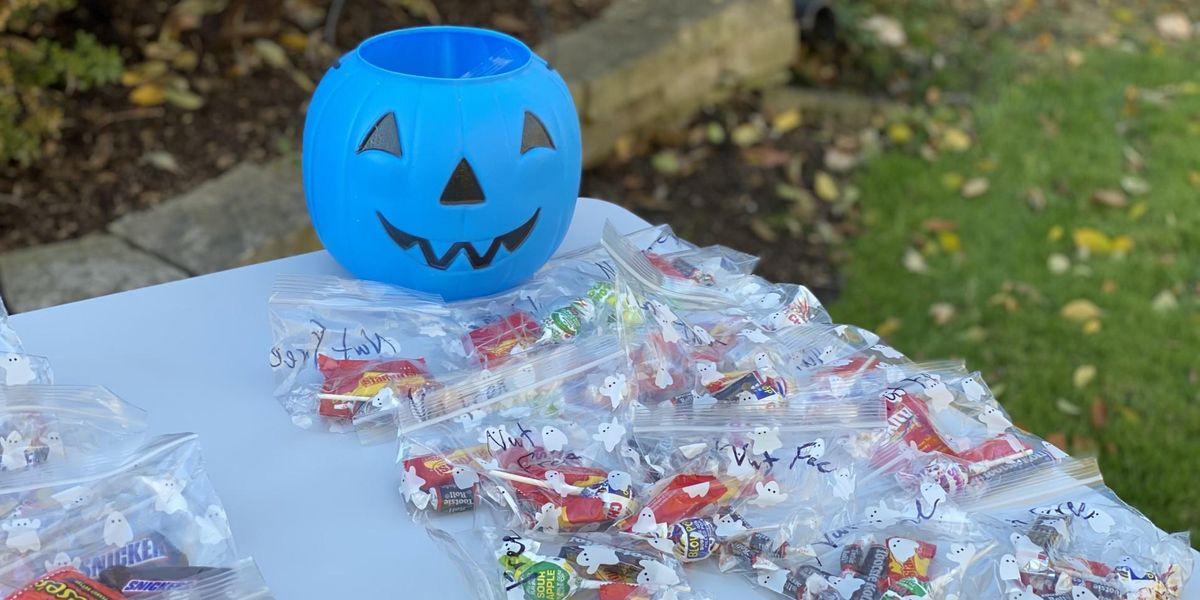 Các thỏa thuận với bí ngô màu xanh là gì?  Cách bạn có thể hỗ trợ trẻ em bị dị ứng trong ngày Halloween