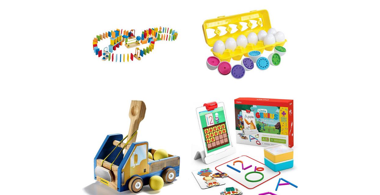 Đồ chơi STEM tốt nhất cho trẻ mới biết đi và trẻ em khuyến khích sự tò mò + khám phá