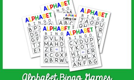 Trò chơi Bingo bảng chữ cái miễn phí cho trẻ em