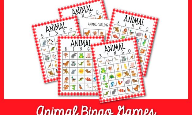 Trò chơi Bingo động vật miễn phí cho trẻ em