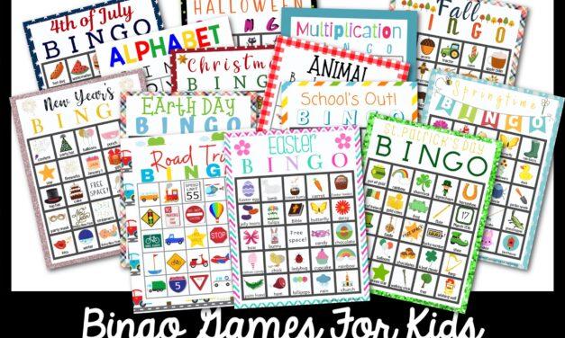Trò chơi Bingo miễn phí hay nhất cho trẻ em 15+ để tham gia