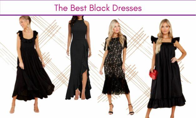 20 chiếc váy đen giản dị nhất
