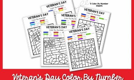 Màu ngày của cựu chiến binh theo số